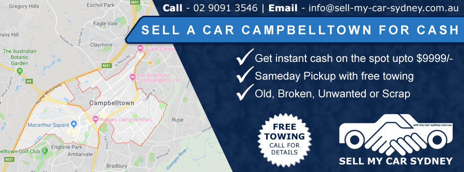 Sell A Car Campbelltown For Cash